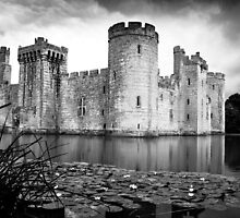 Bodiam Castle, East Sussex by herbpayne
