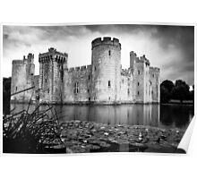Bodiam Castle, East Sussex Poster