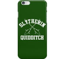 Slytherin Quidditch – Harry Potter, Hogwarts, Draco Malfoy iPhone Case/Skin