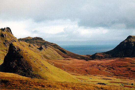 Isle of Skye, near the Quirang by GreenPeak