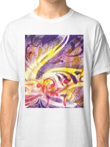 French Curve Abstract Movement I Classic T-Shirt