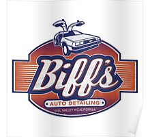 Biff's Auto-Dealing Poster