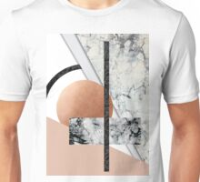 Collage II ( marble, copper, volcanic rock) Unisex T-Shirt