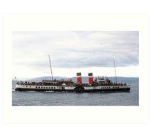 The Waverley Paddle Steamer Art Print