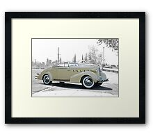 1934 LaSalle Norwood Convertible Framed Print