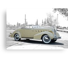 1934 LaSalle Norwood Convertible Canvas Print