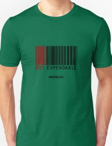NOT EXPENDABLE Unisex T-Shirt