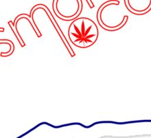 Smoke Local Weed in Connecticut (CT) Sticker