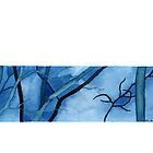 """""""Winter Sky"""" – in blue by Kim Moulder"""