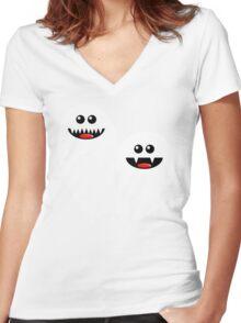SPOOKS Women's Fitted V-Neck T-Shirt
