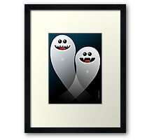 SPOOKS Framed Print