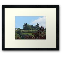 Riber Castle Framed Print