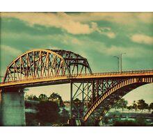 The Peace Bridge Photographic Print