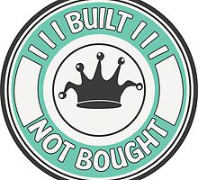 Jdm built not bought badge - minty by TswizzleEG