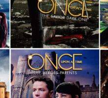 Once Upon Time  Sticker