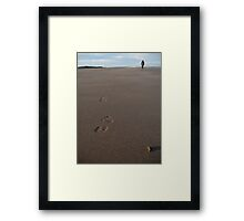 Pressing on Framed Print