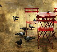 Festin de pigeons by Sonia de Macedo-Stewart