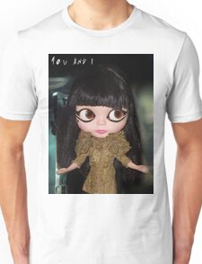 You & I Lady Gaga inspired doll picture Unisex T-Shirt