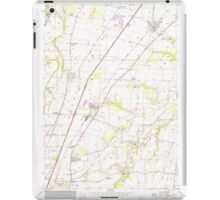 USGS Topo Map Oregon Gervais 280015 1957 24000 iPad Case/Skin