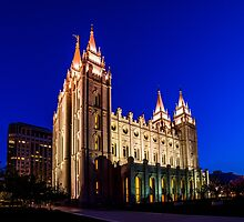 A Night at the Salt Lake Temple by T L Mair
