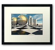 Greek Balls Framed Print