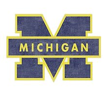 University of Michigan Sticker by indianastickies