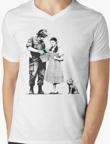 Bag Search Mens V-Neck T-Shirt
