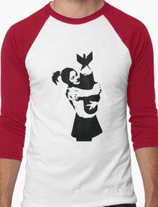 Bomb Girl Men's Baseball ¾ T-Shirt