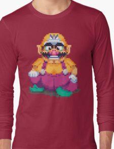 Laughing wario Long Sleeve T-Shirt