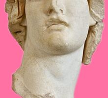 Vaporwave Roman Busk/Statue Sticker