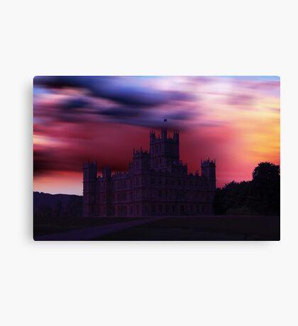 Downton Abbey Dusk Canvas Print