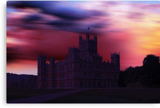Downton Abbey Dusk by David Alexander Elder