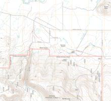 USGS Topo Map Oregon Sprague River East 20110719 TM Sticker