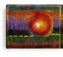 BIG Ball of Fire Canvas Print