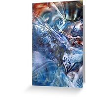 Magnetic midnight bridging worlds of time and space Greeting Card