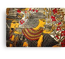 Papyrus Pharaoh Canvas Print