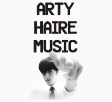 Arty Haire Music Kids Tee