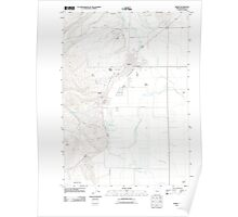 USGS Topo Map Oregon Burns 20110829 TM Poster