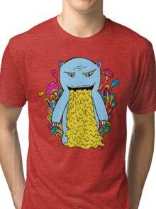 Pukey Monster Tri-blend T-Shirt