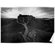 Castell Dinas Bran Poster