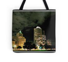 Milwaukee at night © Tote Bag