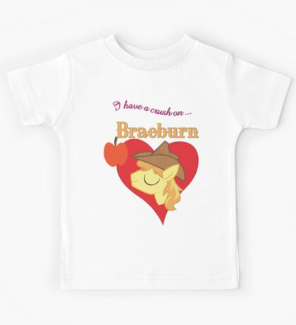 I have a crush on... Braeburn - with text Kids Clothes
