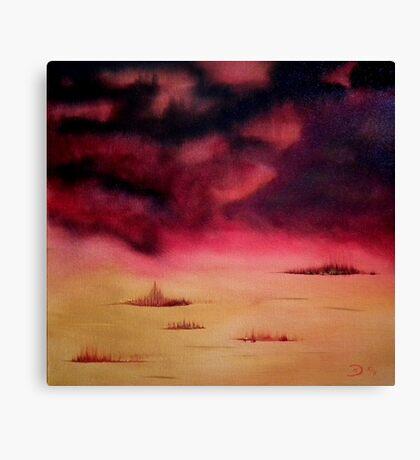 Tropical storm 2 Canvas Print