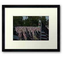 From Out Of The Shadows Framed Print