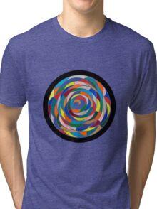 Swirling Abyss Tri-blend T-Shirt