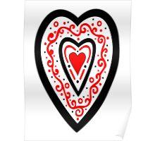 Ben's Heart Poster
