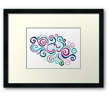 Primeval Swirl Framed Print