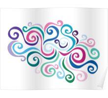 Primeval Swirl Poster