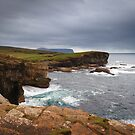 Yesnaby Clifftop View, Orkney by Christopher Thomson