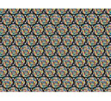 Swirling Abyss Pattern Photographic Print
